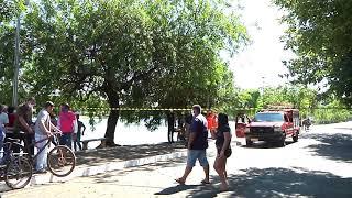 Mais um corpo foi encontrado dentro da Lagoa Grande em Patos de Minas. É o segundo este ano.