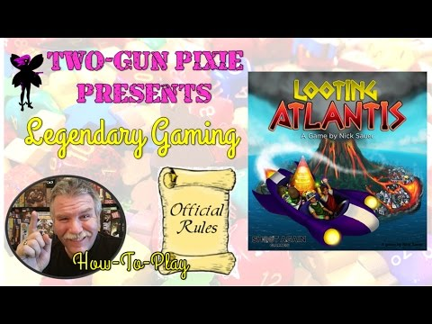 How-to-Play 014 - Looting Atlantis by Shoot Again Games