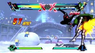 UMVC3 ~ Spider-Man TAC Infinite - All Directions + Midscreen Conversions