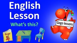 English Lesson 2 - What's this?