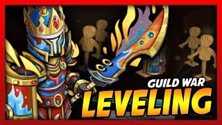 Knights and Dragons - POWER LEVELING MY GUILD WAR TOP 10 SHADOWFORGED ARMOR!! CROWNPLATE ETERNAL!