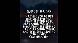 Xxxtentacion Quotes Free Video Search Site Findclip Net
