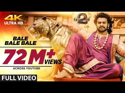 Download Bale Bale Bale Full Video Song || Baahubali 2 Tamil | Prabhas,Anushka Shetty,Rana,Tamannaah|Bahubali HD Video