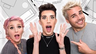 James Charles Surprise Room Makeover! | OMG We're Coming Over!