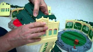 How To Assemble TIDMOUTH SHEDS Tomy Trackmaster Thomas And Friends Toy Train Set Turntables Kids