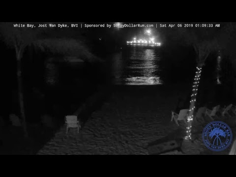 Soggy Dollar Bar LIVE Webcam - White Bay, Jost Van Dyke, BVI