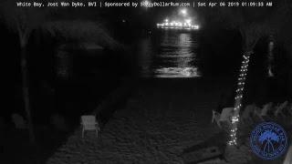 Soggy Dollar Bar LIVE Webcam - White Bay, Jost Van Dyke, BVI