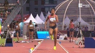 Meeting de Marseille 2018 : Eloyse Lesueur avec 6,80 m à la longueur