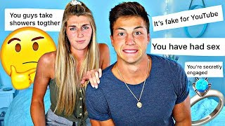 Reacting to your ASSUMPTIONS about our RELATIONSHIP