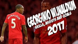 Georginio Wijnaldum - Skills and Goals - Liverpool - 2016/2017
