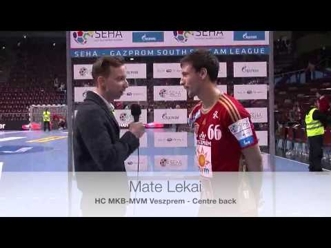 MKB-MVM Veszprem - Radnicki Post-Match Interview