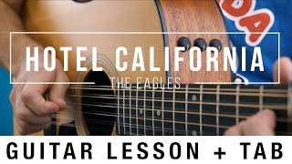 Hotel California (Intro) - The Eagles - Guitar Lesson