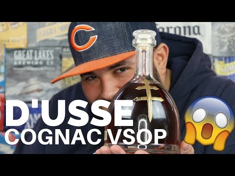 D'USSE COGNAC VSOP REVIEW |DRINKING WITH FARLEY