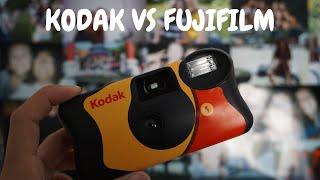 KODAK VS. FUJIFILM! WHICH DISPOSABLE CAMERA IS BETTER?