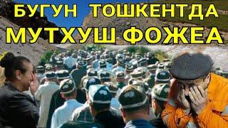 ТОШКЕНТДА МУТХИШ ФОЖЕА ХАММАНИ ЙИГЛАТДИ