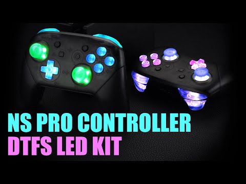 eXtremeRate Nintendo Switch PRO Controller DTFS LED Kit Installation Guide