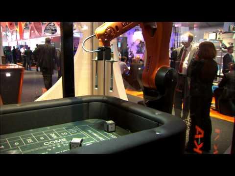 KUKA Roboter GmbH auf der Automatica 2012.