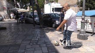 Pallone sequestrato a Barivecchia: non ci sono più i vetri rotti di una volta