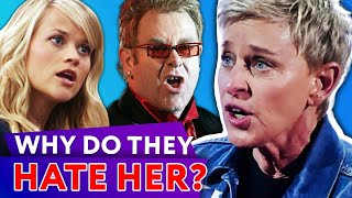 Why These Celebs Can't Stand Ellen DeGeneres? | ⭐OSSA