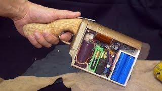 Как сделать портативную гаусс пушку