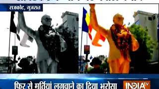 Protests erupt after Ambedkar statue goes missing in Gujarat