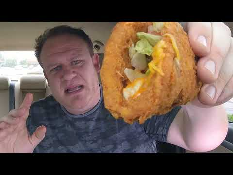 Taco Bell ☆WILD & MILD Naked Chicken Chalupa☆ Food Review!!!