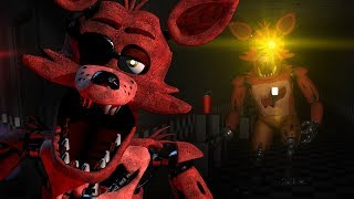 CHASED BY REMASTERED FOXY || FNAF 3D Overnight Revived (FREE ROAM Five Nights at Freddys)