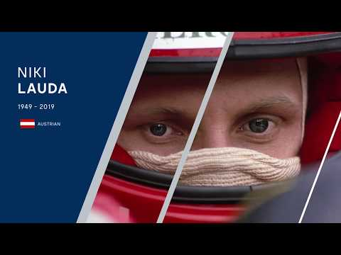 Tribute to Niki Lauda, 1949 - 2019