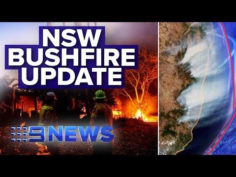 'Extraordinary' bushfire crisis continues in NSW | Nine News Australia