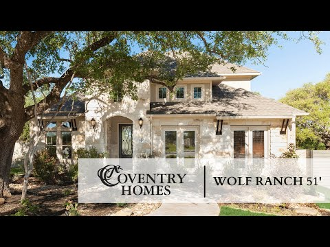 Coventry Homes in Wolf Ranch Hilltop 51\'
