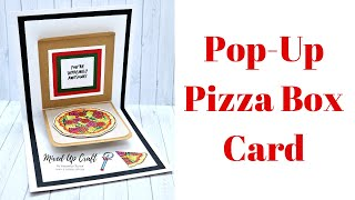 Pizza Box Card • Pop-Up Cards • DIY Birthday Cards