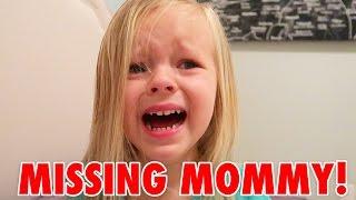 TODDLER MISSING MOMMY! 😢