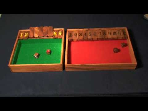 Shut-The-Box Game - rules of play.