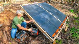 New Portable Solar Generators for Off Grid Camp! #55