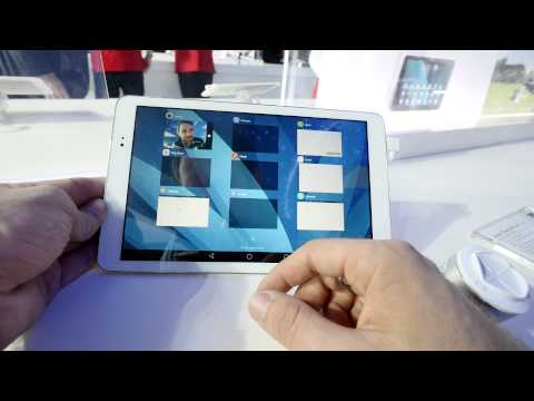 Huawei MediaPad T1 10 Hands on [4K UHD]
