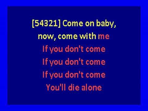 Mudhoney  - Touch Me I'm Sick (karaoke)