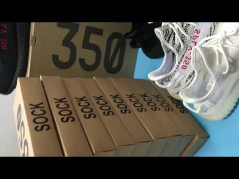 b07d774ee2489 YEEZY BOOST 350 V2 ZEBRA BRUTALLY HONEST REVIEW   COMPARISON   UNBOXING