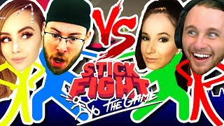 COUPLES BATTLES: STICK FIGHT: THE GAME!!