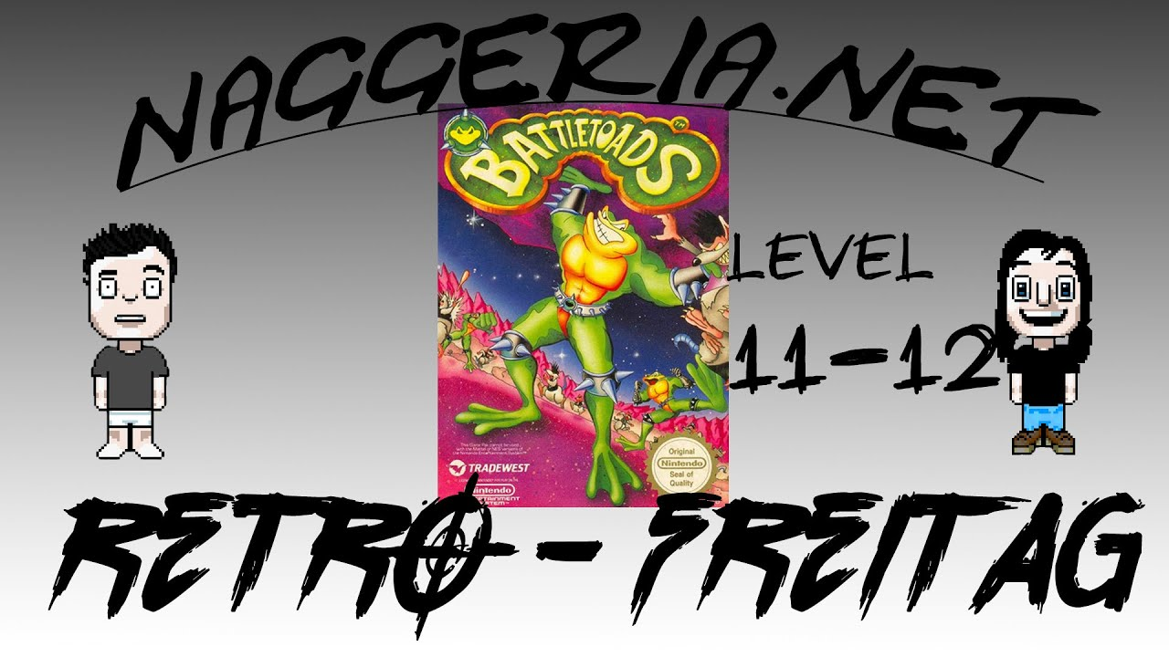 [Retro-Freitag] Battletoads – Level 11 & 12 (Xbox One / NES)