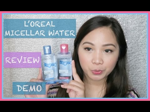 Affordable L'oreal Micellar Water | REVIEW AND DEMO (Philippines) | TheBeautyMove