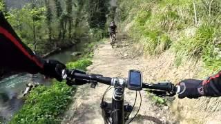 preview picture of video 'Fuori di Ruotella - Valle del Treia MTB 15 Marzo 2014'