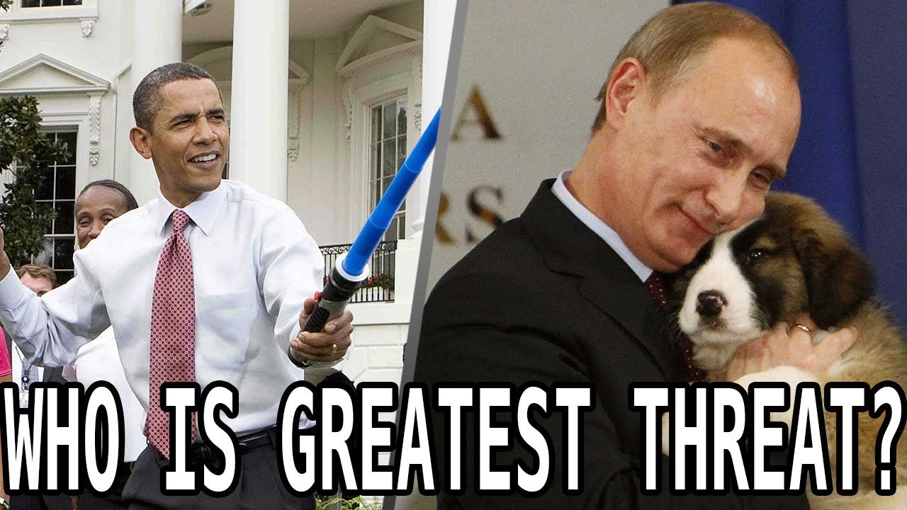 Obama Vs. Putin? POLL: Who Is A Greater Threat To America? thumbnail