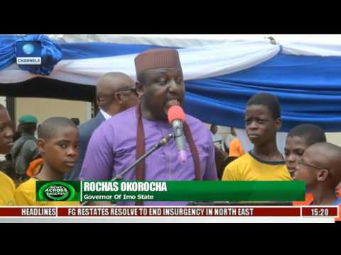 Imo Education: Okorocha Commissions Oweri City Primary School