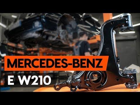 Come sostituire braccio sospensione anteriore su MERCEDES-BENZ E (W210)