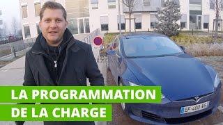 La programmation de la recharge d'une voiture électrique