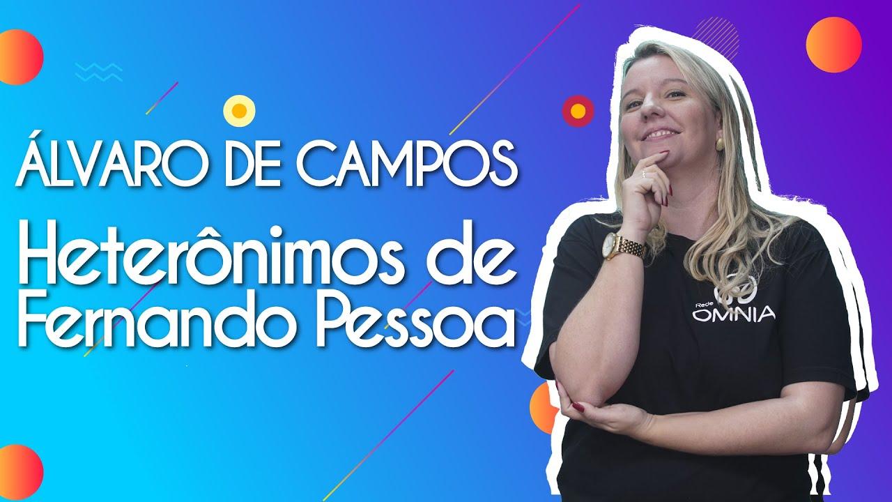 Álvaro de Campos | Heterônimos de Fernando Pessoa