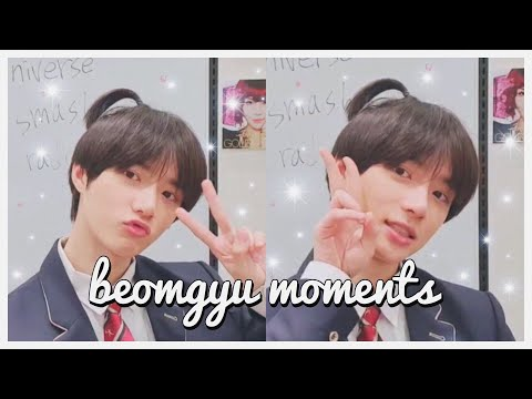 TXT BEOMGYU CUTE MOMENTS