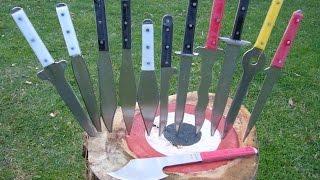 Come lanciare i coltelli da lama