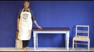 Mahogany Look Project –Part 2: Applying Dark Chalk Paint® Wax