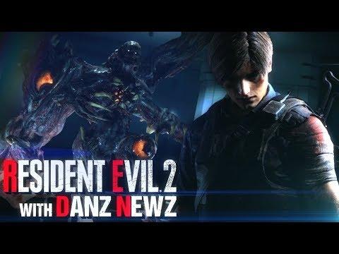 Leon's Ending - Resident Evil 2 w/ Danz Newz Pt7